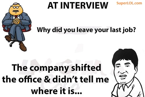 why did you leave your last job